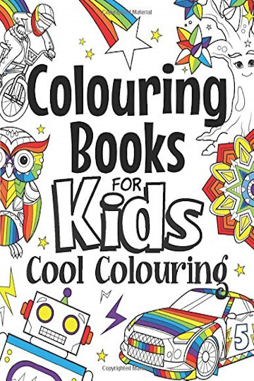 Colouring gifts for young children UK