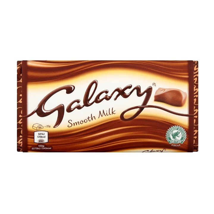Gifts with Galaxy milk chocolate