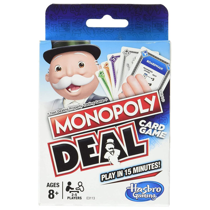 Monopoly card game gift ideas UK delivery